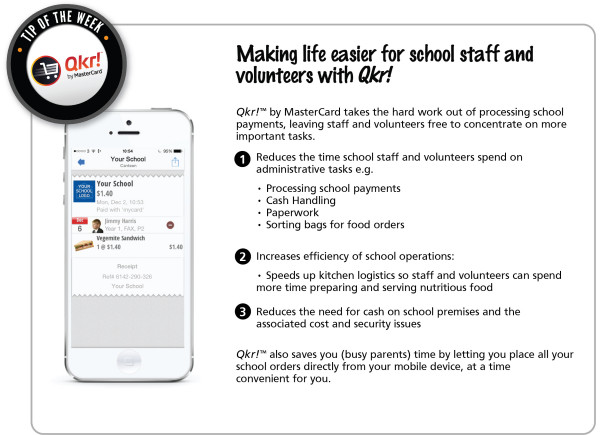 Week 4 _ Making life easier for school staff and volunteers with